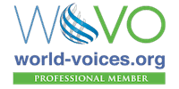 Greg Thomas, Voice Actor - DeepWarmVoice.com - Member of World Voices - Logo